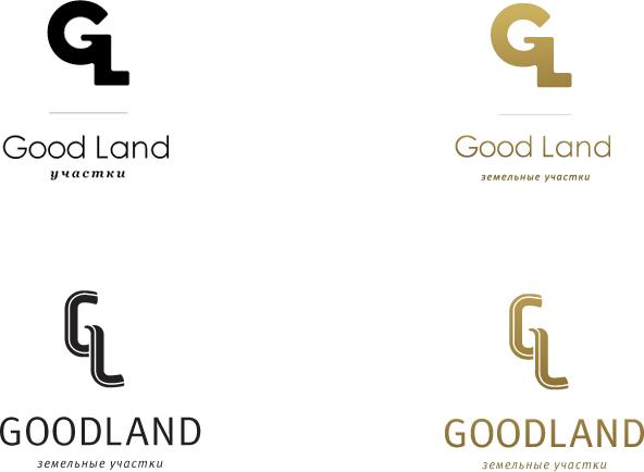 Разработка логотипа «GoodLand» - 1