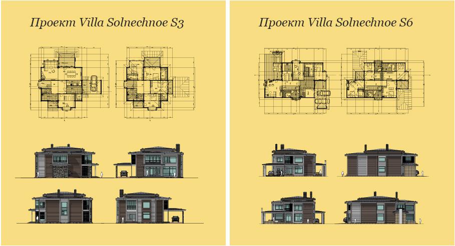 Моделирование и визуализация проектов коттеджей HONKANOVA Concept Residence - 2