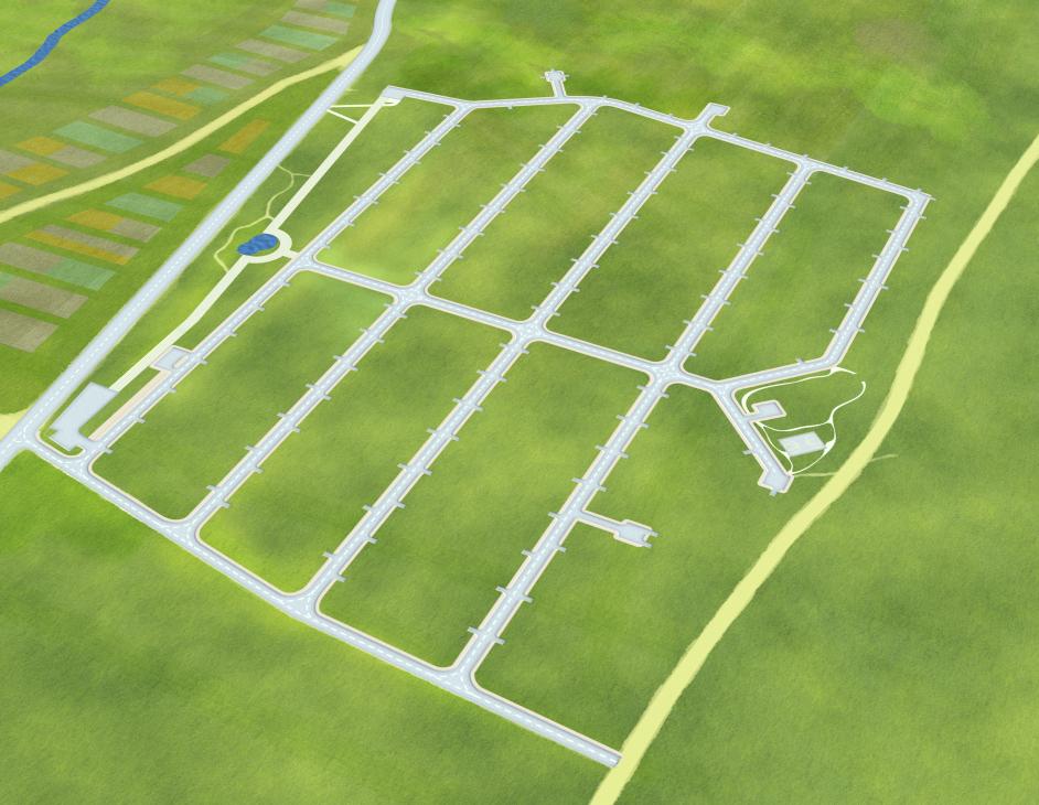 Создание генпланов для коттеджных посёлков «LandKey» - 2