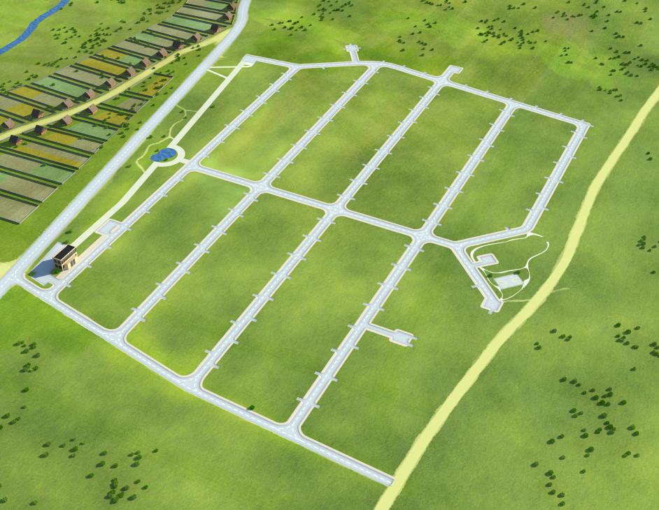 Создание генпланов для коттеджных посёлков «LandKey» - 3