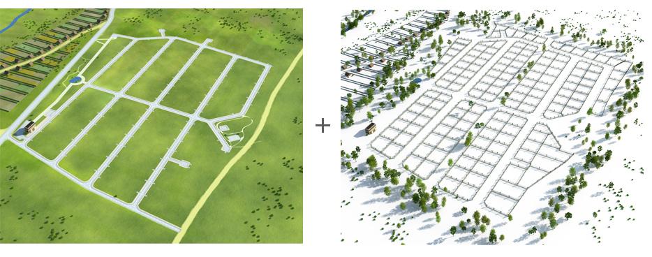 Создание генпланов для коттеджных посёлков «LandKey» - 4