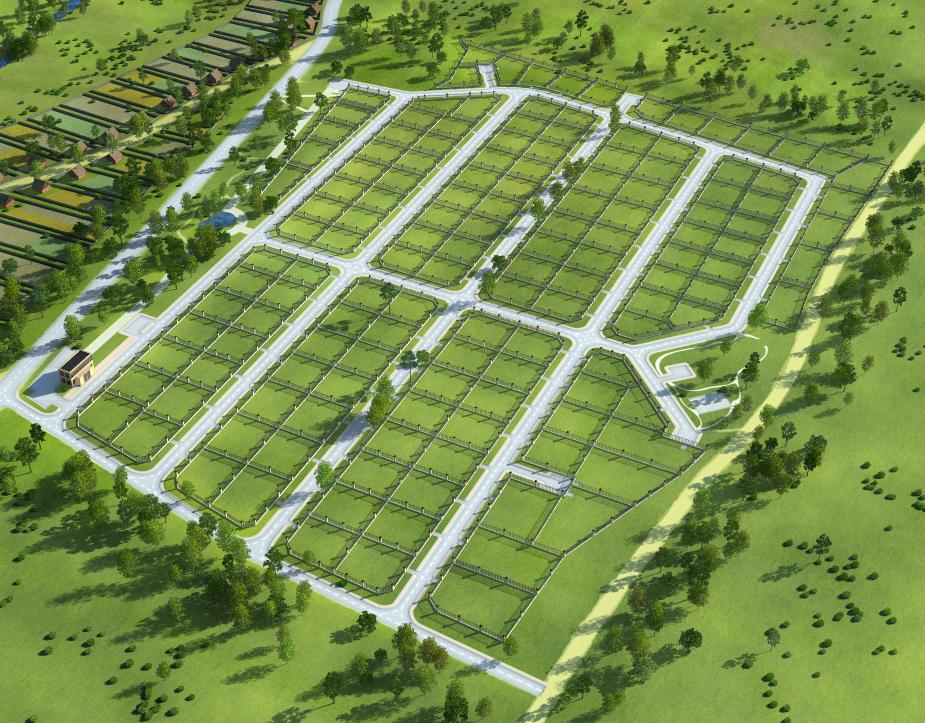 Создание генпланов для коттеджных посёлков «LandKey» - 5