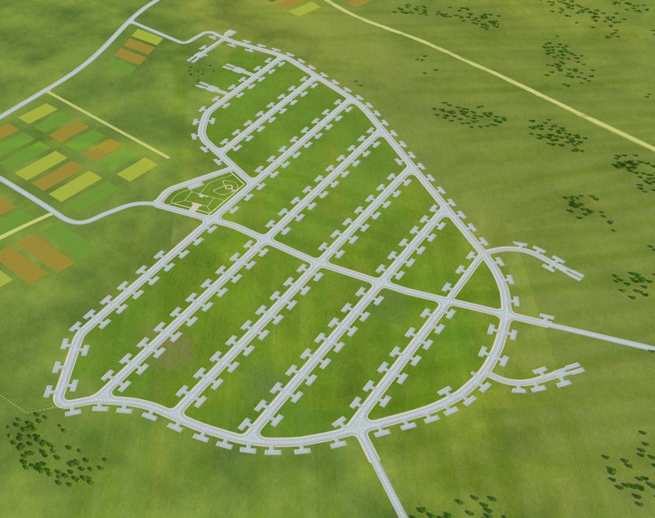 Создание генпланов для коттеджных посёлков «LandKey» - 7