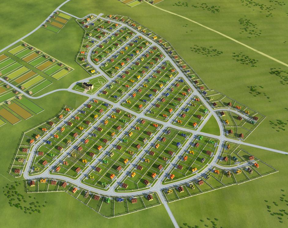 Создание генпланов для коттеджных посёлков «LandKey» - 8
