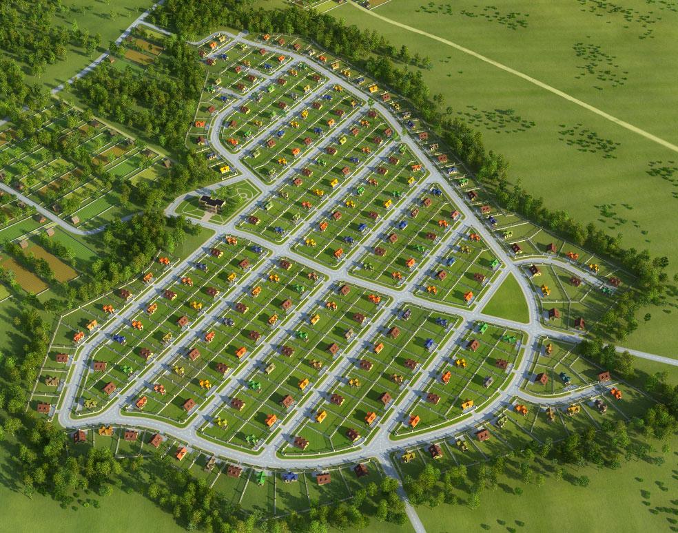 Создание генпланов для коттеджных посёлков «LandKey» - 9