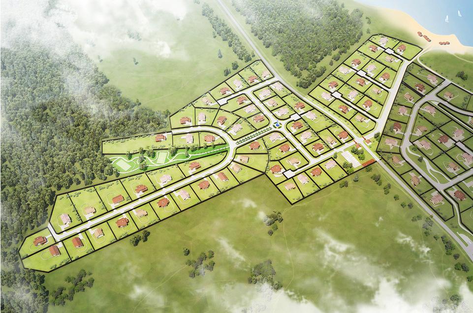 Генплан коттеджного поселка «Landskrona» - 1