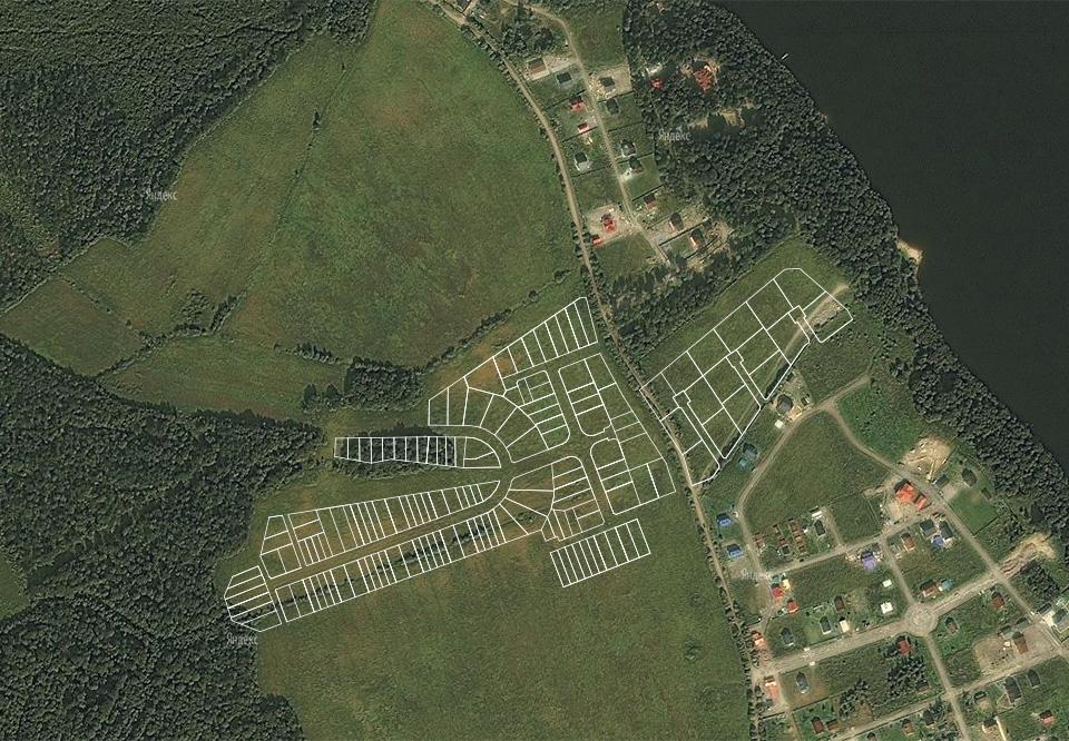 Генплан коттеджного поселка «Landskrona» - 3