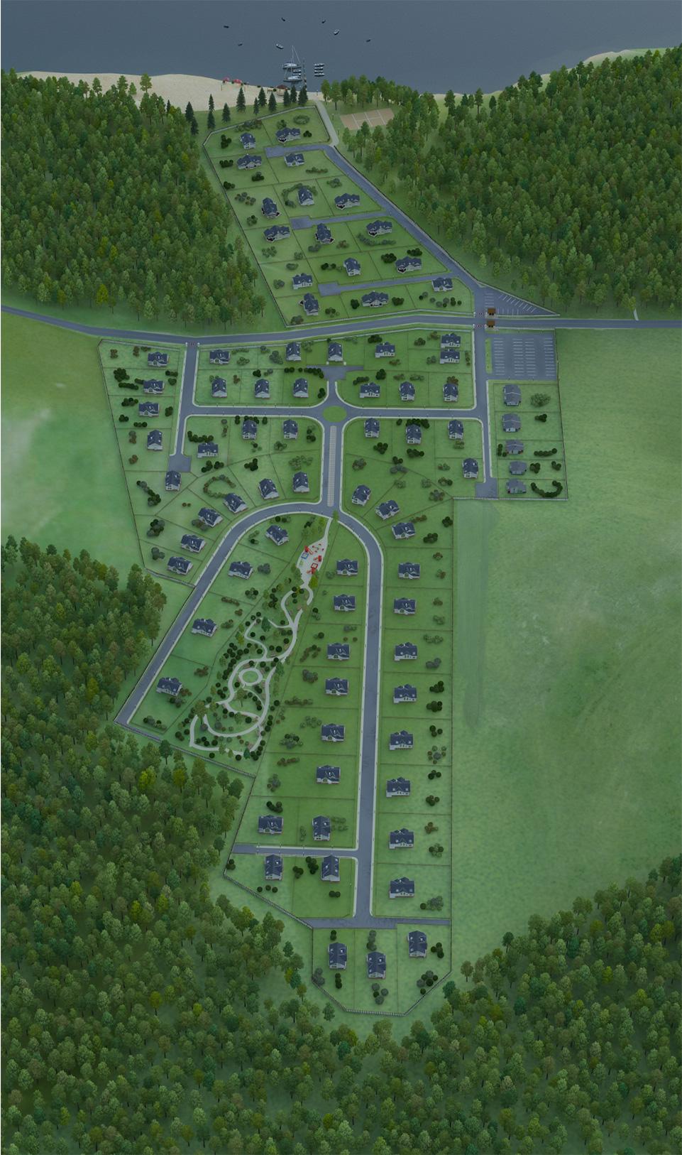 Генплан коттеджного поселка «Landskrona» - 5