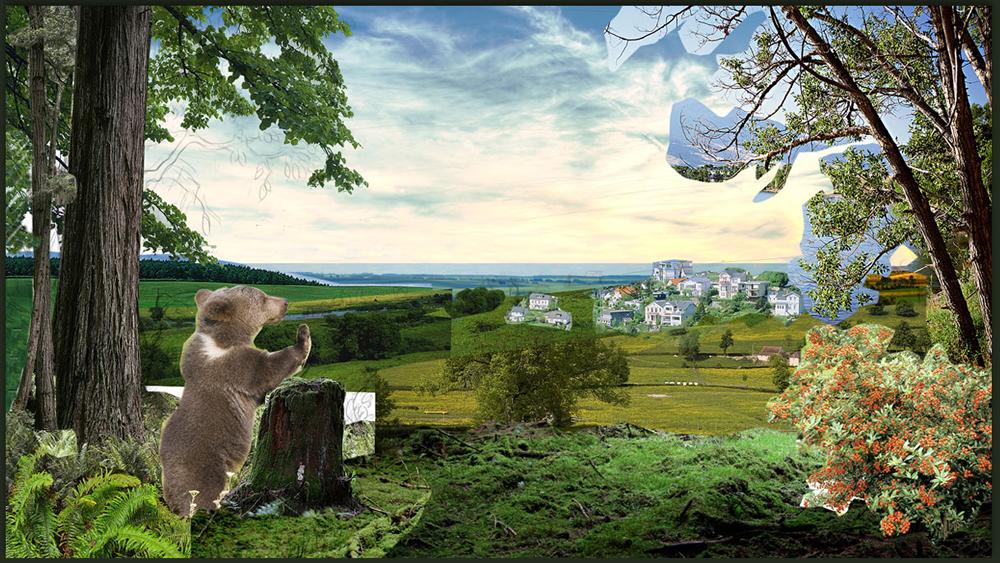 Разработка сайта коттеджного поселка «Мишкин лес» - 2
