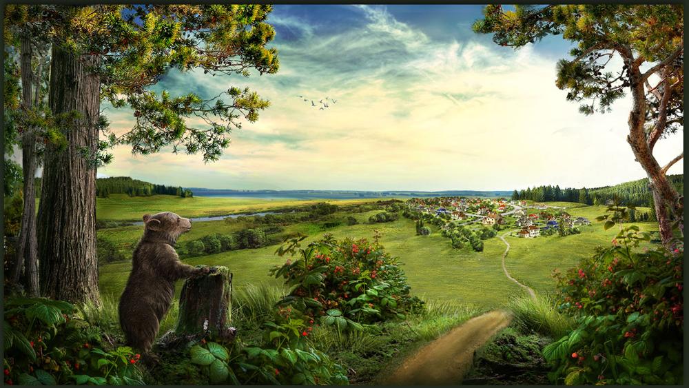 Разработка сайта коттеджного поселка «Мишкин лес» - 4
