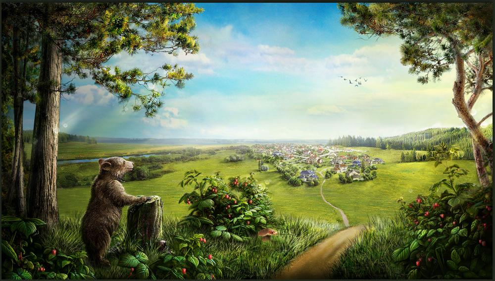 Разработка сайта коттеджного поселка «Мишкин лес» - 5