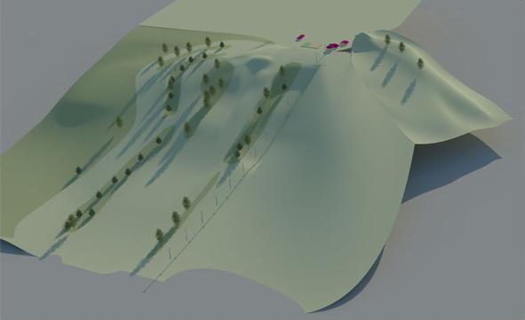 Создание генплана горнолыжного курорта «Красное озеро» - 2