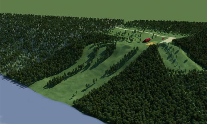 Создание генплана горнолыжного курорта «Красное озеро» - 3