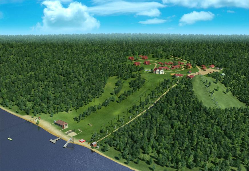 Создание генплана горнолыжного курорта «Красное озеро» - 6