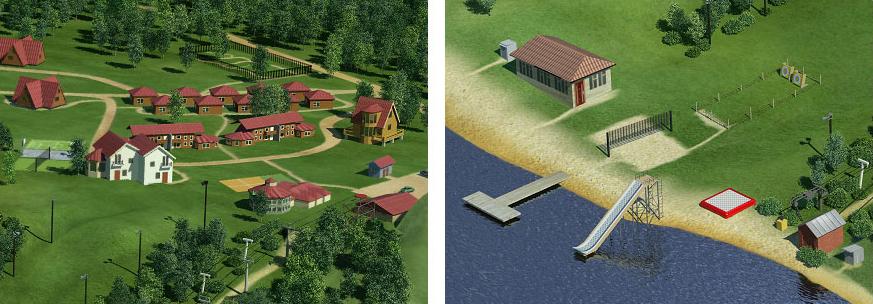 Создание генплана горнолыжного курорта «Красное озеро» - 7