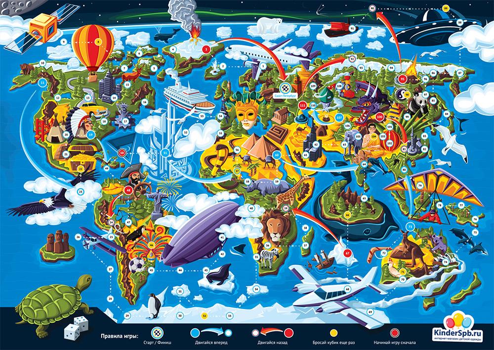 Дизайн настольной игры для KinderSpb - 11