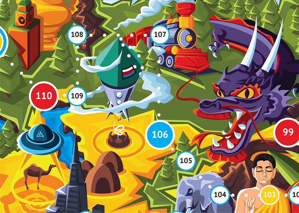 Дизайн настольной игры для KinderSpb - 7